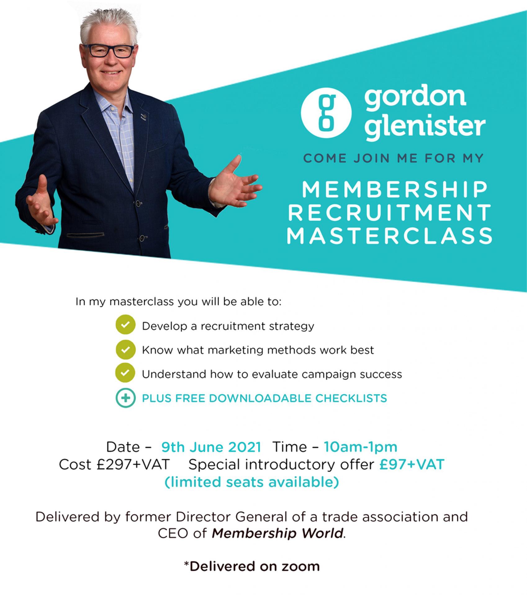 Membership Recruitment Masterclass